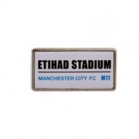 Manchester City F.C.  prisegamas ženklelis