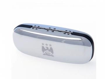 Manchester City F.C. chromuotas akinių dėklas
