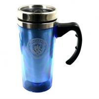 Manchester City F.C. kelioninis puodelis (Su rankena)