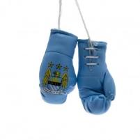 Manchester City F.C. pakabinamos mini bokso pirštinės