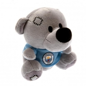 Manchester City F.C. pliušinis meškiukas (Pilkas)