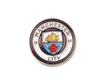 Manchester City F.C. prisegamas ženklelis (Logotipas)