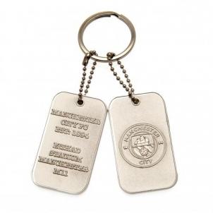 Manchester City F.C. raktų pakabukas - žetonai