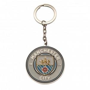 Manchester City F.C. raktų pakabukas (Logotipas)