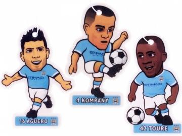 Manchester City F.C. žaidėjų formos oro gaivikliai
