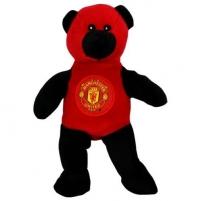 Manchester United F.C. pliušinis meškiukas (juoda/raudona)
