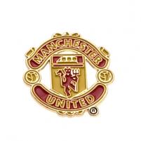 Manchester United F.C. prisegamas logotipo formos ženklelis