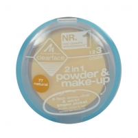 Manhattan Clearface Powder & Make-up Cosmetic 11g Pudra veidui