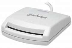Manhattan Kortelių skaitytuvas Smart USB išorinis kontaktinis Flash atmiņas