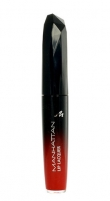 Manhattan Lip Lacquer Lipgloss Cosmetic 5,5ml 10C Roaring Red Blizgesiai lūpas