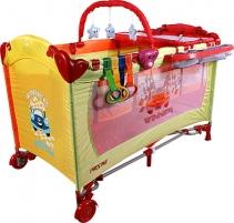 Maniežinė lovytė ARTI Deluxe Home Winner Rainbow Playpens for kids