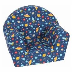 Margas foteliukas Kosmosas Foteliai, sėdmaišiai vaikams