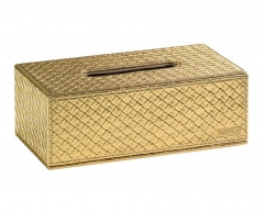 MARRAKECH dėklas servetėlėms, aukso spalvos