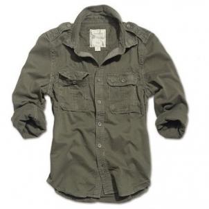 Marškinėliai RAW Vintage oliv Surplus 06-3591-05 alyvuogių spalvos