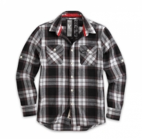Marškiniai Surplus LUMBERJACK SHIRT black 06-5006-03 Tactical shirts, vests