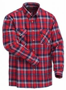 Marškiniais Pinewood HARJEDALEN 9026 czerwona krata