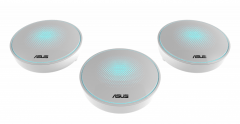 Maršrutizatorius Asus MAP-AC2200 (LYRA) Complete Home Wi-Fi Mesh System Wireless-AC2200 Tri-band