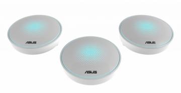 Maršrutizatorius Asus MAP-AC2200 (LYRA) Complete Home Wi-Fi Mesh System Wireless-AC2200 Tri-band