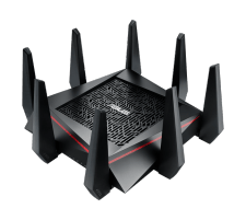 Maršrutizatorius Asus RT-AC5300 Tri-band Gigabit Router, 802.11ac, 2167 Mbps + 2167 Mbps (2X5GHz)