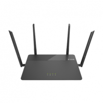 Maršrutizatorius D-Link MU-MIMO router DIR-878 10/100/1000 Mbit/s, Ethernet LAN (RJ-45) ports 4, 2.4GHz/5GHz, Wi-Fi standards 802.11ac, 600+1300 Mbit/s, Antenna type External, Antennas quantity 4