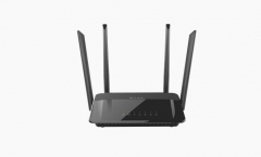 Maršrutizatorius D-Link Wireless AC1200 Dual Band Gigabit Router with external antenna