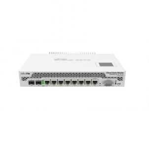 Maršrutizatorius MikroTik CCR1009-7G-1C-1S+PC Router Cloud Core Router CCR1009-7G-1C-1S+PC 10/100/1000 Mbit/s, Ethernet LAN (RJ-45) ports 7, USB ports quantity 1, Rack mountable, Router OS, Level 6 license, Web Management, SFP+ ports 1 Maršrutizatoriai kompiuteriams