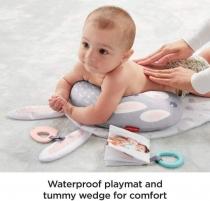 Masažavimo komplektas GJD32 Fisher-Price Baby Bunny Massage Set Saugiai kūdikystei