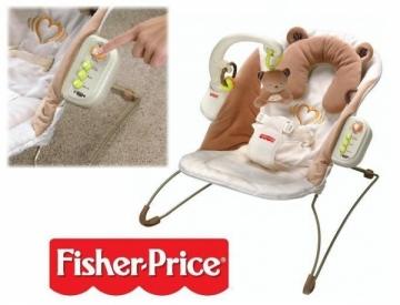 Masažinė kėdutė-supynė Širdelės plakimas Fisher Price P6580 Kitos prekės kūdikiams