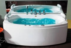 Masažinė vonia B1790-1 su oro ir hidromasažu 190cm Lauko kanalizacija kita