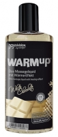 Masažinis aliejus WARMup White Chocolate 150ml