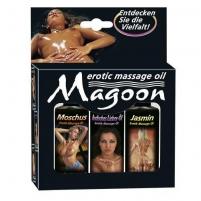Masažo aliejų rinkinukas Afroditė (3 x 50 ml)