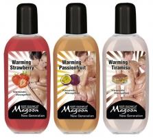 Masažo aliejų rinkinys Šiluma (3 x 100 ml) Massage oils