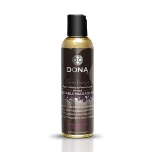 Masažo aliejus DONA Kissable massage oil (šokolado skonio)