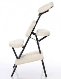 Masažo kėdė RESTPRO® RELAX Cream - sulankstoma Masāžas mēbeles