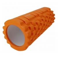 Masažuoklis Yoga Foam Grid Foam Roller, 33cm Masāžas rīku