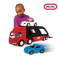 Mašina autovežis su 2 mašinėlėmis | 2015 | Little tikes