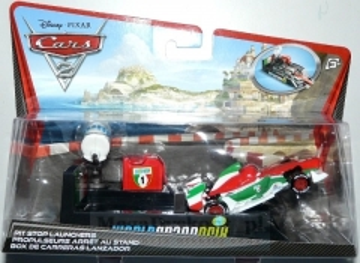 Mašinėlė Mattel W1438 Disney Cars FRANCESCO BERNOULLI
