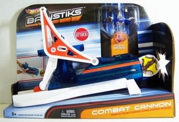 Mattel Hot Wheels W3602 Ballistiks combat cannon
