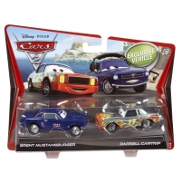 mašinytė Mattel V2834 (V2832)Disney Cars CHRIS DINNER vs BRENT MUSTANGBURGER