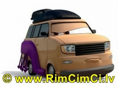 mašinytė Mattel V2848 Disney Cars KINGPIN NOBUNAGA