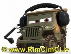 Mašinytė Mattel V2868 (V2867,V2863,V3615) Disney Cars LIGHTNING McQUEEN and FRANCESCO BERNOULLI CLIFFSIDE CHALLENGE