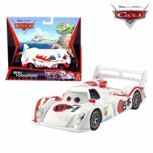 Mašinytė Mattel V2868 (V2867,V2863,V3615) Disney Cars LIGHTNING McQUEEN and FRANCESCO BERNOULLI CLIFFSIDE CHALLENGE Žaislai berniukams