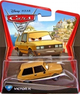 Mašinytė Mattel V2868 (V2867,V2863,V3615) Disney Cars LIGHTNING McQUEEN and FRANCESCO BERNOULLI CLIFFSIDE CHALLENGE Игрушки для мальчиков