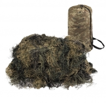 Maskuotė Ghillie Woodland 2x3m Mil-Tec Camouflage accessories