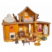 Mašos ir lokio namas su priedais | Maša ir lokys | Simba 9301032 Žaislai mergaitėms