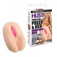 Masturbuoklis HUSTLER-PORN STAR PUSSY & ASS Masturbuokliai