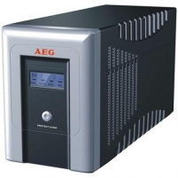 AEG UPS Protect.A 1000, 1000VA / 600W / 4x IEC-320 battery protected/ 2x IEC-320 overvoltage protection