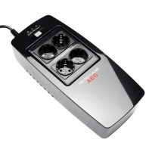 Matinimo šaltinis AEG UPS Protect Home, 600VA / 300W / 4xSchuko sockets / RS232 / USB / TV, phone protection / Modified sinewave