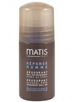 Matis Paris Réponse Homme Alcohol Free Deodorant Roll-On for Men 50ml Dezodorantai/ antiperspirantai