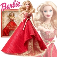 Mattel Barbie Collector 2014 Holiday Doll BDH13